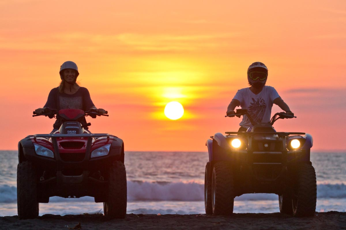 As the sun finally sets over the horizon, there's no doubt the your Bali ATV tour will be imprinted on your mind for years to come.
