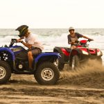Modern, powerful and serviced by international mechanics, a Bali quad is great fun on the beach!