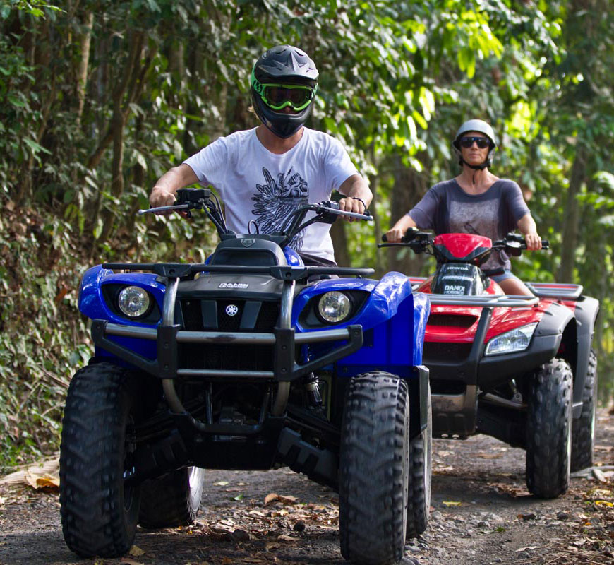 Bali quad discovery tours on our ATV's that will leave you breathless