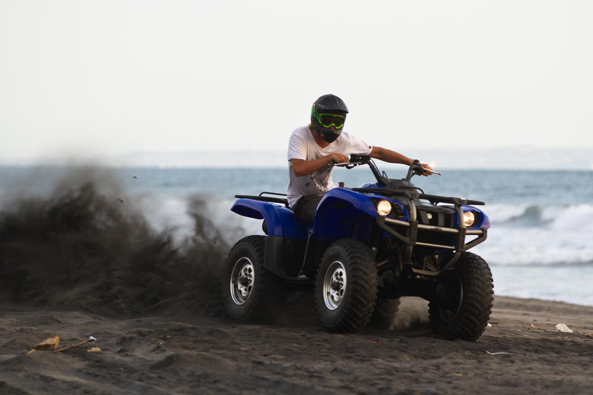 The Freedom Of Open Beach Your Bali Atv Ride Lets You Explore Island