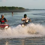 ATV ride Bali sunset tour is perfect for the adventure romantic